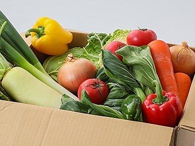 お野菜定期便のイメージ