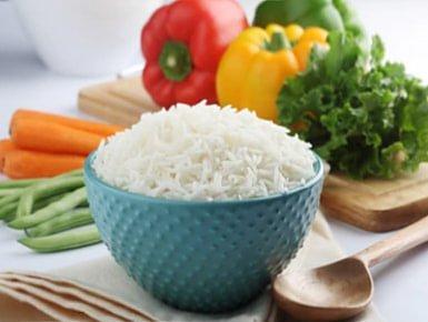 お米と野菜のセットのイメージ