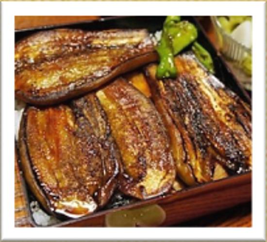 イタリアナス(ナス)のかば焼き (イタリアナスの方がより肉に近い食感が楽しめます。)のイメージ