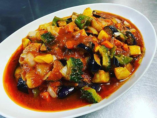 夏野菜のラタトゥイユのイメージ