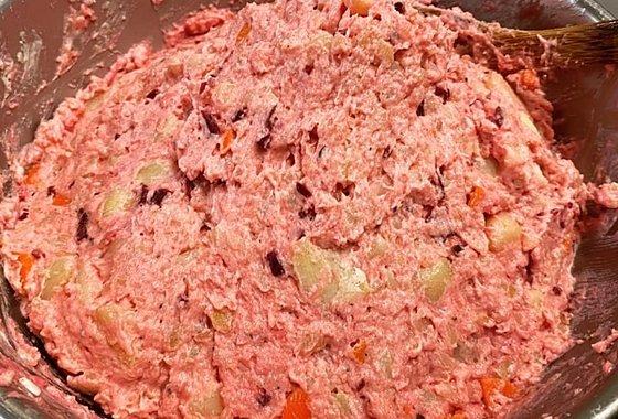 ビーツのポテトサラダのイメージ
