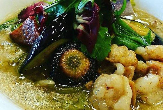 夏野菜とホルモン 吉野ヶ里あいちゃん農園のイメージ