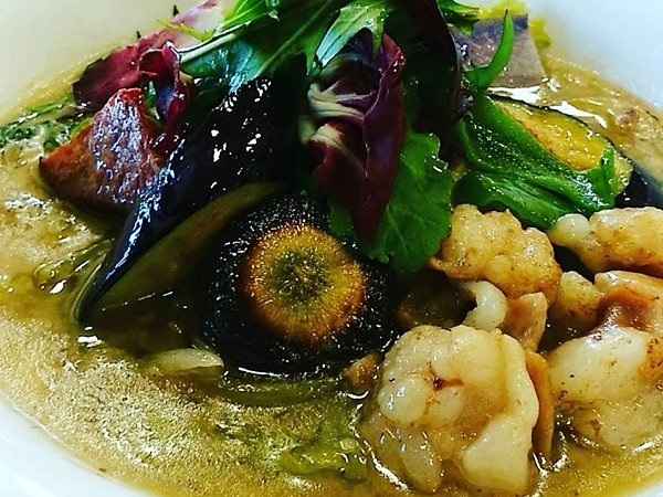 夏野菜とホルモン|吉野ヶ里あいちゃん農園の画像